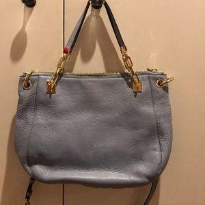Blue Henri Bendel Leather Crossbody